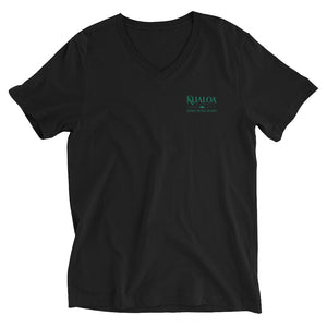 Unisex Short Sleeve V-Neck T-Shirt KUALOA HAWAII