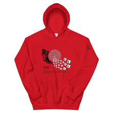Load image into Gallery viewer, Unisex Hoodie AMI Front & Shoulder printing