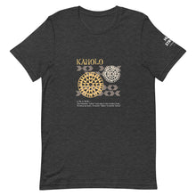 Load image into Gallery viewer, Short-Sleeve Unisex T-Shirt KAHOLO Front & Shoulder printing Logo White