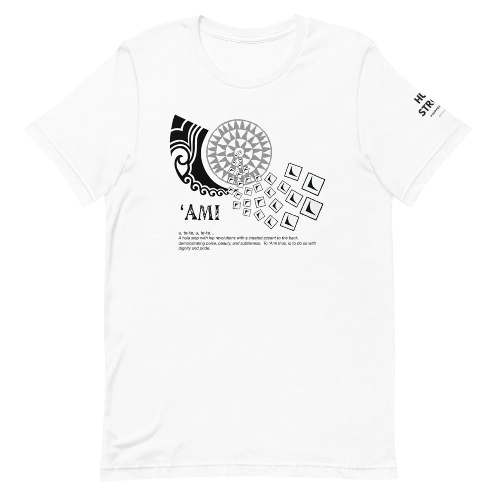 Short-Sleeve Unisex T-Shirt AMI Front & shoulder printing