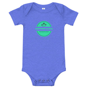 Baby bodysuits #SUPPORT ALOHA Series Palm Tree