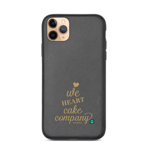 Biodegradable phone case We Heart Cake Company