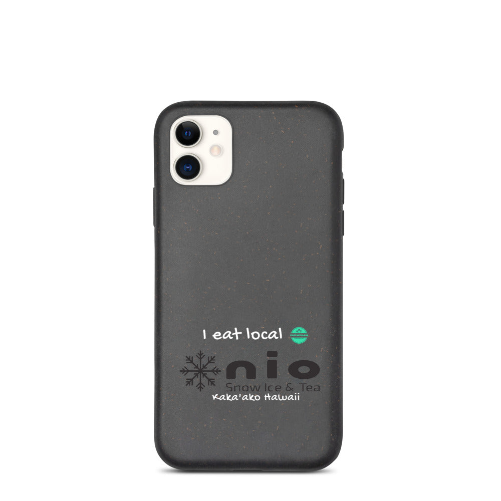 Biodegradable phone case NIO Snow Ice & Tea