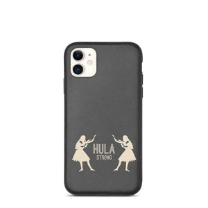 Biodegradable phone case HULA STRONG Girl 02