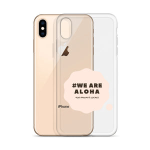 iPhone Case #WE ARE ALOHA Series Cloud Pink
