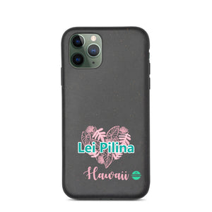 Biodegradable phone case Lei Pilina