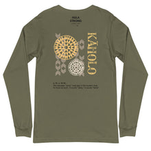 Load image into Gallery viewer, Unisex Long Sleeve Tee KAHOLO Front & Back printing