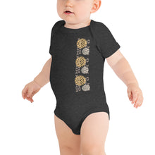 Load image into Gallery viewer, Baby Bodysuits KAHOLO Front & Back printing Logo White