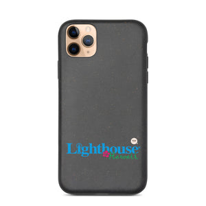 Biodegradable phone case Lighthouse Hawaii