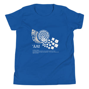 Youth Short Sleeve T-Shirt AMI Logo White