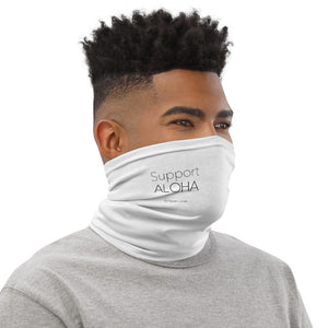 Neck Gaiter #SUPPORT ALOHA Series Mono