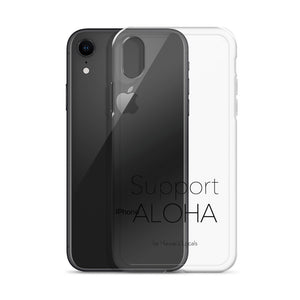 iPhone Case #SUPPORT ALOHA Series Mono