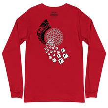 Load image into Gallery viewer, Unisex Long Sleeve Tee AMI Front & Back printing