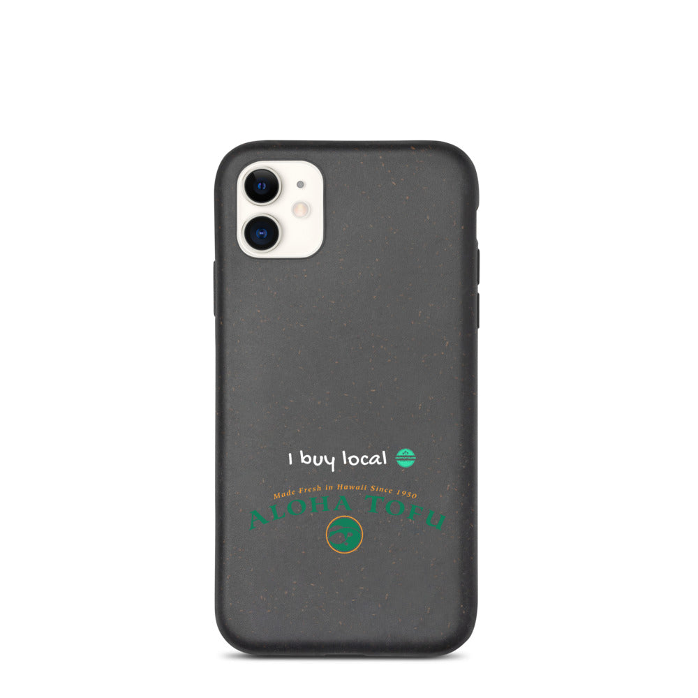 Biodegradable phone case ALOHA TOFU