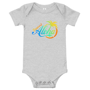 Baby Bodysuits #SUPPORT ALOHA Series Coco