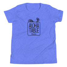 Load image into Gallery viewer, Youth Short Sleeve T-Shirt ALOHA TABLE