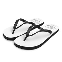 Load image into Gallery viewer, Flip-Flops #SUPPORT ALOHA Series Mono