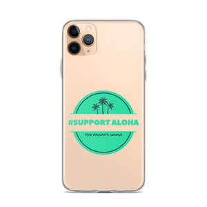iPhone Case #SUPPORT ALOHA Series Palm Tree