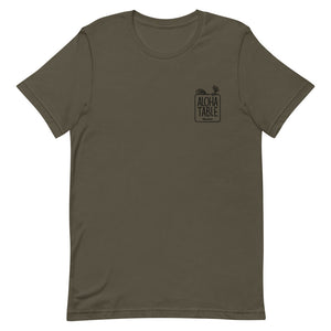 Short-Sleeve Unisex T-Shirt ALOHA TABLE