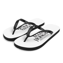 Load image into Gallery viewer, Flip-Flops MANA HONUA Logo Black