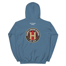Load image into Gallery viewer, Unisex Hoodie Hawaii Soccer Academy Front & Back printing (Logo White)