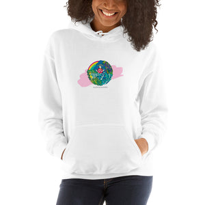 Unisex Hoodie Bright Color Aloha Hands