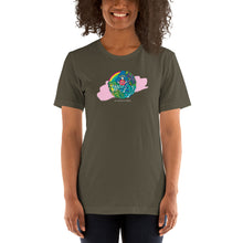 Load image into Gallery viewer, Short-Sleeve Unisex T-Shirt Dark Color Aloha Hands