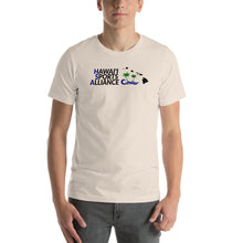 Load image into Gallery viewer, Short-Sleeve Unisex T-Shirt Hawaii Sports Alliance