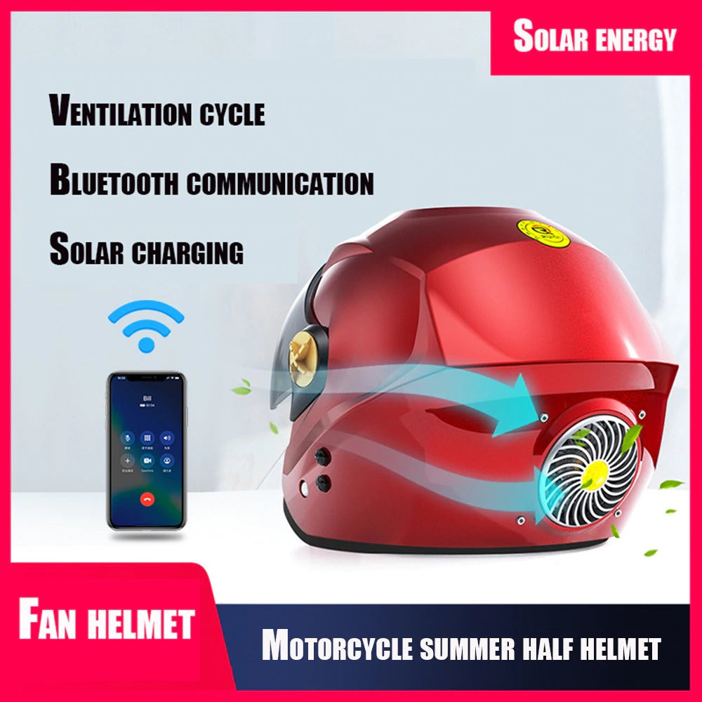 CoolHead™ Motorcycle Helmet