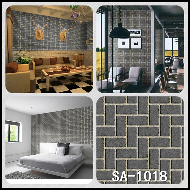 3 D Brick Wall Stickers