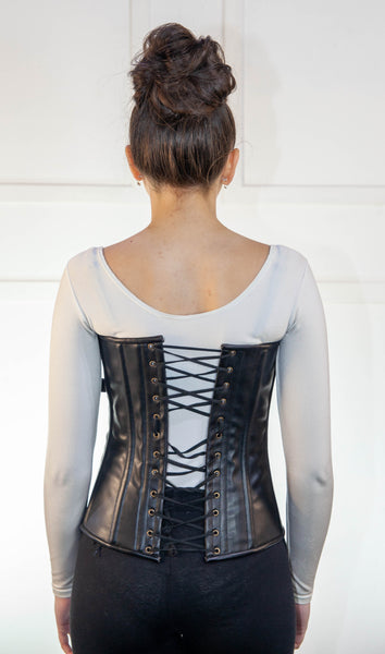 Leather Corset With Chains