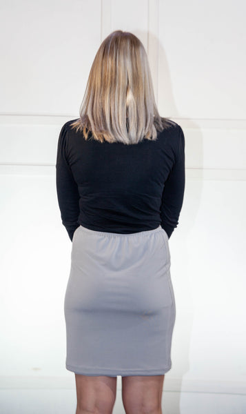 Grey Stoompomp Skirt
