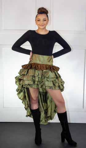 Victorian High-Low Skirt