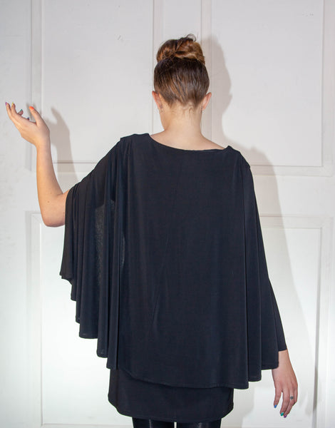 Ladies Blouse With Cape