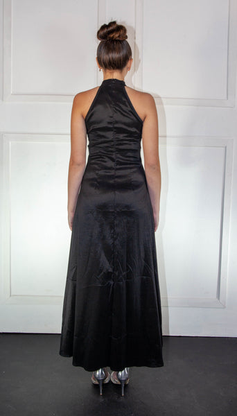 Ladies Black Long Dress