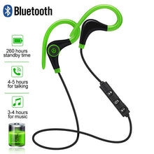 Load image into Gallery viewer, Sport Bluetooth Wireless Earphone Stereo Ear-hook Sports Noise Reduction Earphones With Microphone Headset For IPhone Huawei