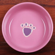 Load image into Gallery viewer, Ceramic Bowl Pet Utensils Cartoon Water Bowl Dog Bowl Ceramic Eating Drinking Bowl Cat Dog Universal Feeders