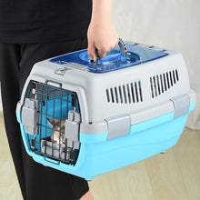 Load image into Gallery viewer, Pet Transport Bag Breathable Dog Cat Carrier Bag Case Big Space Car Portable Carrying Travel Puppy Cage Box Pet Products