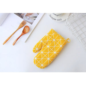 Kitchen Cooking microwave gloves baking BBQ potholders Oven mitts