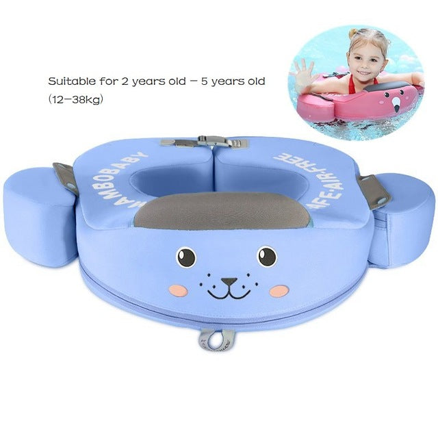 Non-Inflatable Solid Baby Float  Swimming Ring Swim Float Waist Float Ring Floats Pool Toys Swim Trainer for Boys and Girls