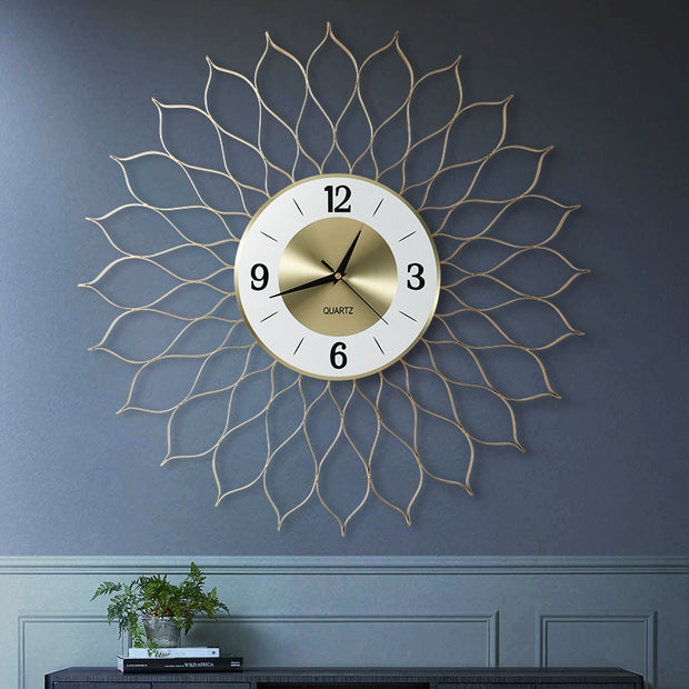 Luxury Living Room Clock Mute Modern Simple Clock Creative Atmosphere Decoration best selling 2020 products