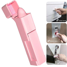 Load image into Gallery viewer, No Touch Open Door Assistant Portable Anti Germ Elevator Button Drawer Door Handle Assistant safety Contactless Tool 1pcs
