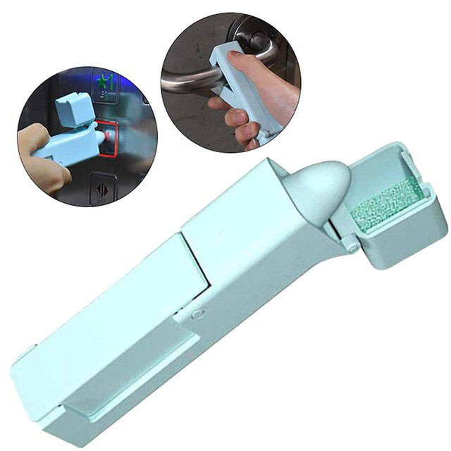 No Touch Open Door Assistant Portable Anti Germ Elevator Button Drawer Door Handle Assistant safety Contactless Tool 1pcs