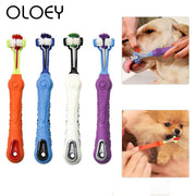 Dog Toothbrush Multi-angle Cleaning Tooth Bad Breath Tartar Teeth Care Tool Brush for Dog Cat Protection Health Product