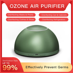 Ozone Air Purifier Air Ozonator Battery Air sterilizer Purify Air Deodorant Mini Ozone Generator Prevent Germs