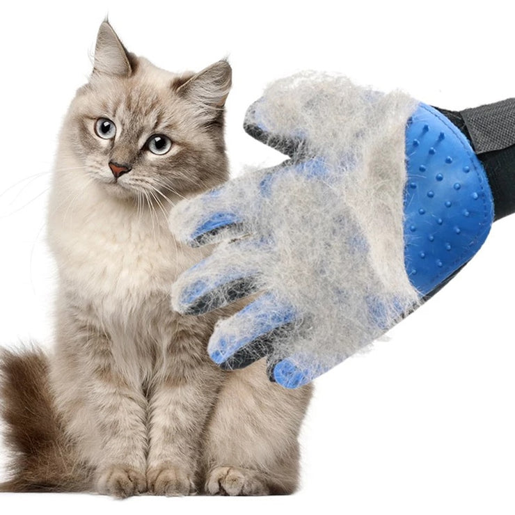 Mild silicone cat and dog pet brush gloves dog cleaning massage comb efficient dog beauty products bath supplies pet gloves