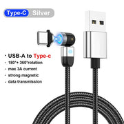 Magnetic Charger Micro USB Type C Cable For iPhone Samsung Xiaomi Redmi Android Mobile Phone Fast Charging magnet Cord