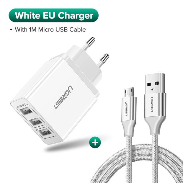 USB Charger for iPhone Xs X 8 7 Fast Phone Charger for Samsung Xiaomi Huawei Wall Charger EU Adapter Mobile Phone Charger