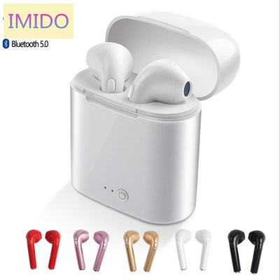 Magic Music I7s tws 5.0 wireless bluetooth earphone stereo earbud headset mic for iphone xiaomi all Smart phone i9s