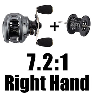SeaKnight FALCON 7.2:1 8.1:1 High Speed Baitcasting Reel 190g Super Long Casting Fishing MAX Drag Power 18LB Short Shaft Spool